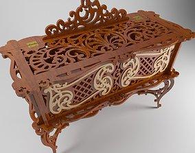 jewelry box case 3D
