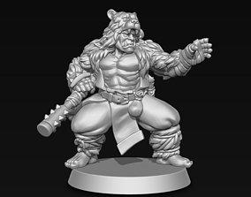 3D print model fighter Orc Monk