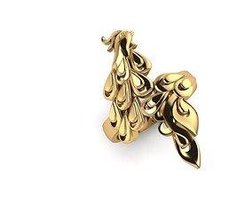 rings RING PEACOCK 3D printable model