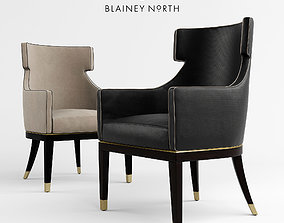 3D model HERCULE Dining Chair by BLAINEY NORTH