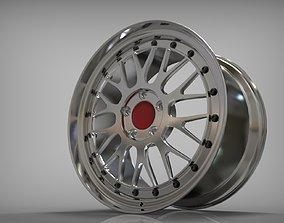 Car rim 19 inch 3D