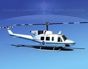 3D Bell UH-1N Twin Huey NASA