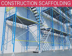 3D model construction scaffolding