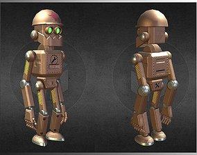 3D asset Toy robot v2