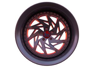 3D model Car Wheel - Brada Tr-V