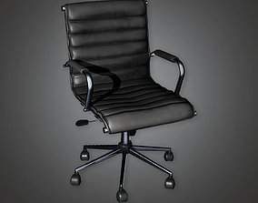 3D model BHE - Bank Chair 2 - PBR Game Ready