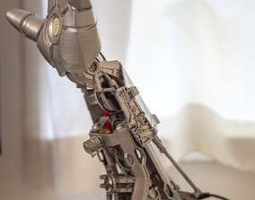 IRON LAMP - 3D Printed Desk Lamp ironman