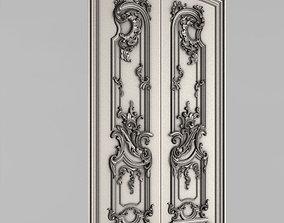 Carved door leaf - Peterhof 3D printable model