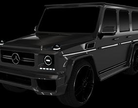 Mercedes Benz class G 3D asset