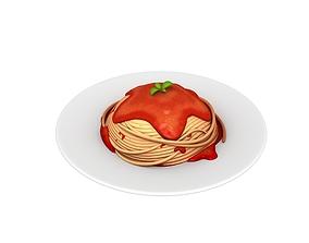 3D model Spaghetti