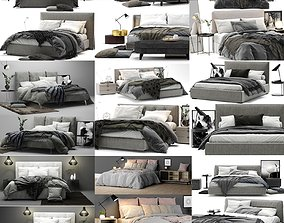 Colection Bed - 10 models 3D
