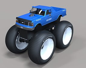 3D model Bigfoot 5 Largest Monster Truck