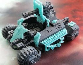 Wolf viking space marine ATV upgrades 3D print model