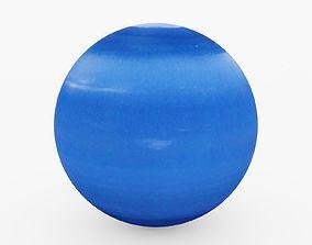 Planet Neptune 3D model
