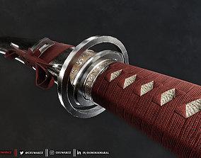 3D model Katana Sword - Honjo Masamune - Realistic Game 2