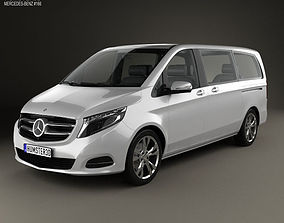 3D model Mercedes-Benz V-Class 2014