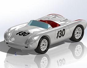 3D model of Porsche 550 Spyder