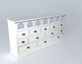 3D model White buffet