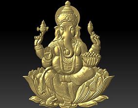 cnc 3D print model ganesha