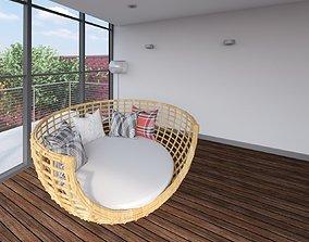 3D Revit family setting lounge
