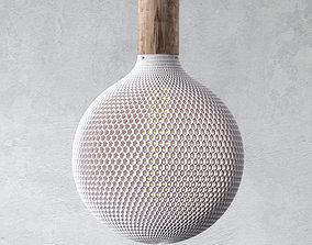 3D print model Round Honeycomb Lampshade