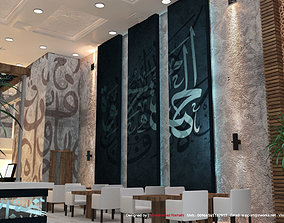 Restaurant Turkish 3D Model Interior Design