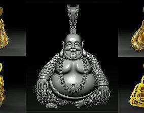 Buddha Diamond luck Pendant 3d cad model