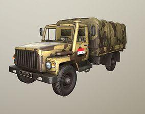 GAZ-3308 Sadko Syrian 3D asset