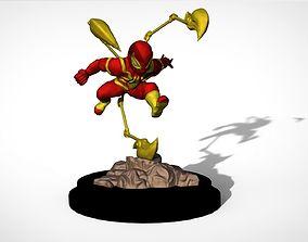 Iron Spiderman Cartoon 3D print model