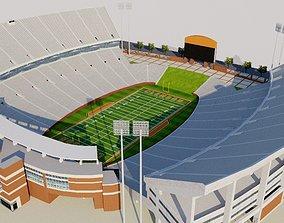 Clemson Memorial Stadium - USA 3D model