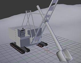 Career Hydraulic Excavator Simulator 3D model