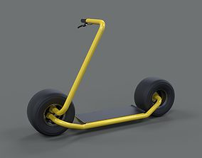 3D Stator electric scooter