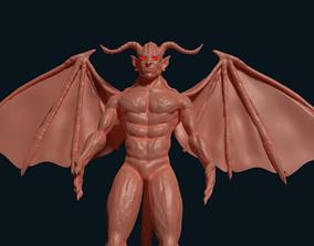 3D model ogre satan