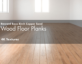 3D model Reward Boca Birch Copper Sand Hardwood Wood 3
