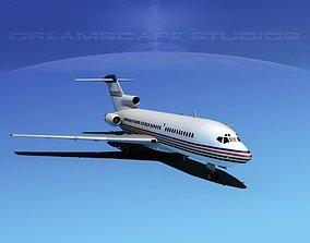 3D Boeing 727-100 Corporate Jet 1