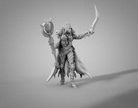 Dark Elf football 3D printable model
