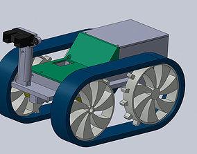 3D print model PirulerBot - An Arduino Rover