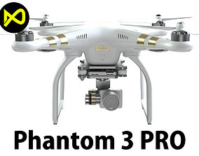 3D DJI Phantom 3 Professional