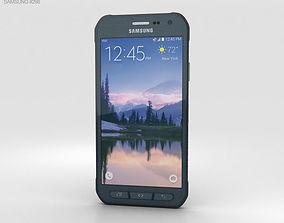 3D model Samsung Galaxy S6 Active Blue