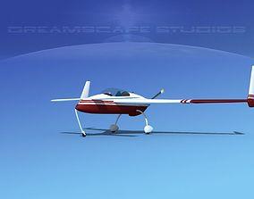 3D model Rutan VariEze V18