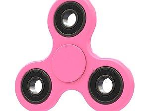 3D Pink seam spinner