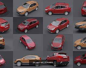 3D model jac cars set