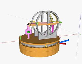 3D print model AT solar thermal collec