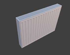 Radiator pack Low Poly 3D asset