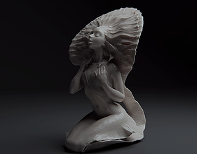 3D printable model Mermaid Bathing