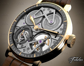 3D model mechanical Watch