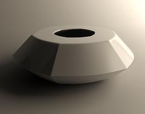 Flowerpot for small vegetation 3 3D printable model