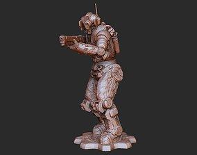 Shepherd Deadeye DeeBee Gears of War 3D Model STL File 3D