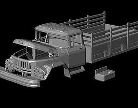 Zil 131 truck Printable Body Car