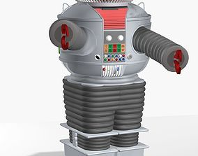 B9 Robot from Lost in Space 3D